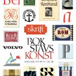 Karl-Erik Forsberg - Vykort Bokstavskonst