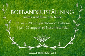 Utsällningsaffisch liggande Naturum Stockholm