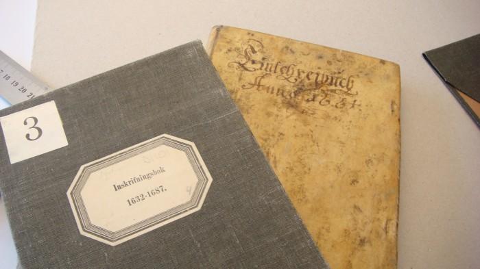 Inskrivningsbok