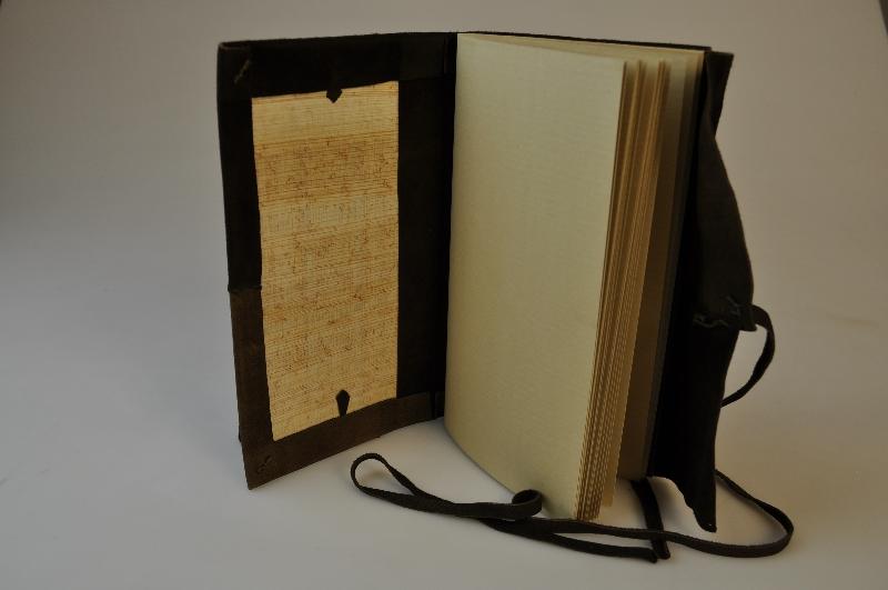 Modell av Nag Hammadi Codex lX